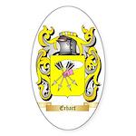 Erhart Sticker (Oval 50 pk)