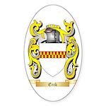 Erck Sticker (Oval 50 pk)