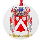 Epton Round Ornament