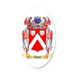 Epton Oval Car Magnet