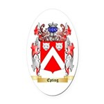 Epting Oval Car Magnet