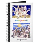 Cute Cartoon Rabbit Moon Journal