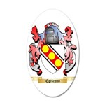 Episcopo 35x21 Oval Wall Decal