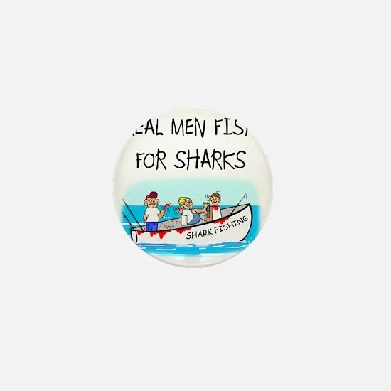 Real men Mini Button
