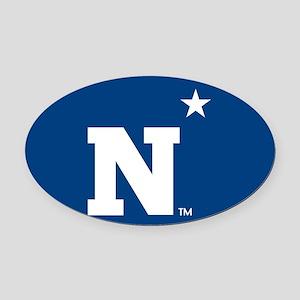 U.S. Naval Academy N Oval Car Magnet