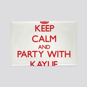 Keep Calm and Party with Kaylie Magnets
