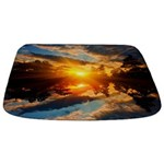 Sunset Over Lake Bathmat