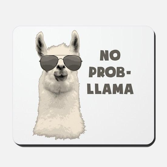 No Problem Llama Mousepad