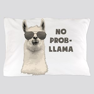 No Problem Llama Pillow Case