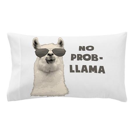 No Problem Llama Pillow Case