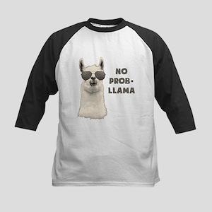No Problem Llama Baseball Jersey