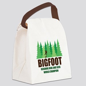Bigfoot Sasquatch Hide and Seek World Champion Can
