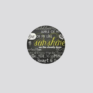 Grandchildren Love and Inspirational Mini Button