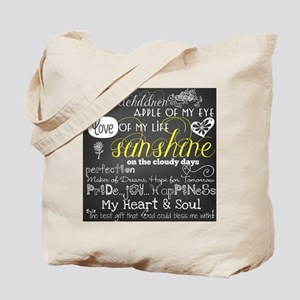 Grandchildren Love and Inspirational Tote Bag