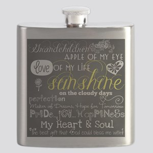 Grandchildren Love and Inspirational Flask