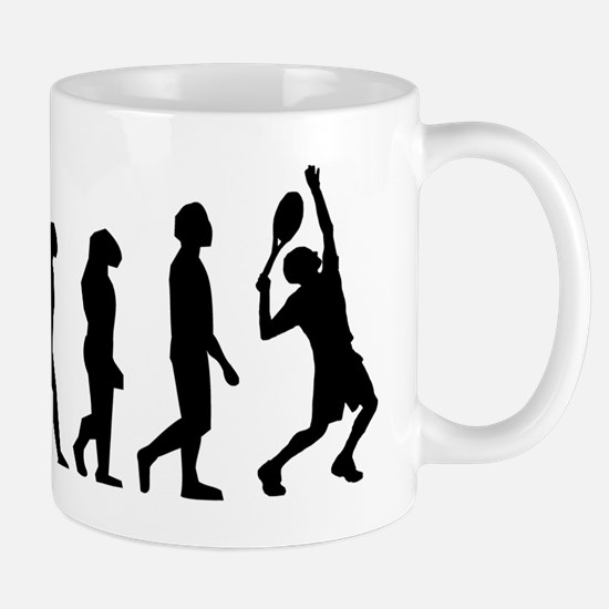 Tennis Evolution Mugs