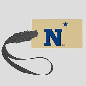 U.S. Naval Academy N Large Luggage Tag