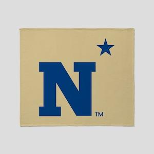 U.S. Naval Academy N Throw Blanket