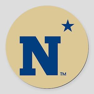 U.S. Naval Academy N Round Car Magnet