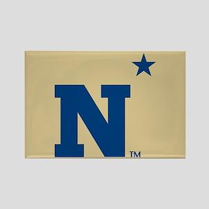 U.S. Naval Academy N Rectangle Magnet