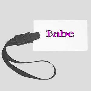 Babe Luggage Tag