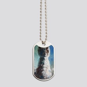 White Shadows Dog Tags