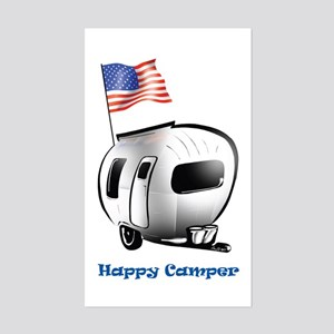 Happer Camper Rectangle Sticker