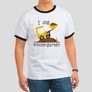 I Dig Kindergarten Ringer T