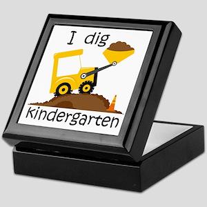 I Dig Kindergarten Keepsake Box