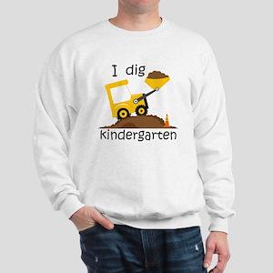 I Dig Kindergarten Sweatshirt