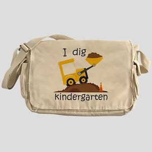 I Dig Kindergarten Messenger Bag