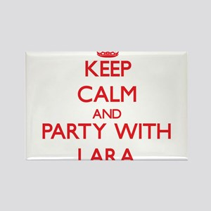 Keep Calm and Party with Lara Magnets
