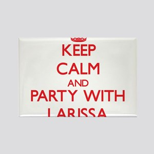 Keep Calm and Party with Larissa Magnets