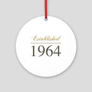 Established 1964 Ornament (Round)