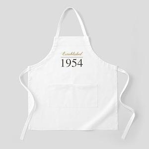 Established 1954 Apron