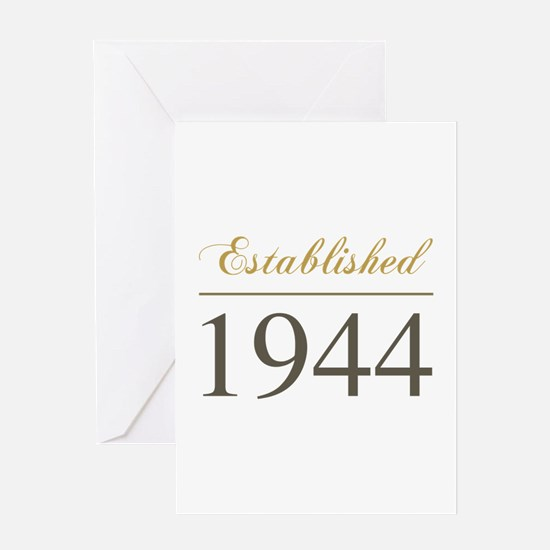 Established 1944 Greeting Card