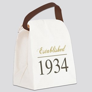 Established 1934 Canvas Lunch Bag