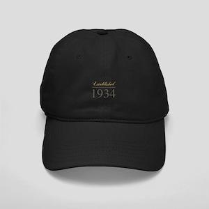 Established 1934 Black Cap