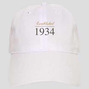 Established 1934 Cap