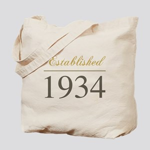 Established 1934 Tote Bag
