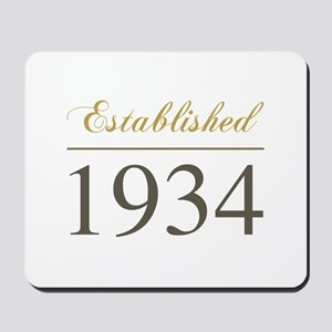 Established 1934 Mousepad