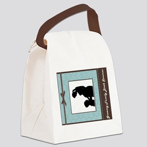 Growing Family 2 Canvas Lunch Bag