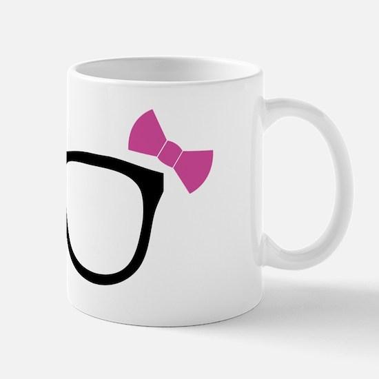 Geeky Girl Glasses Mug