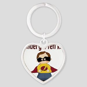Kindergarten Kid Heart Keychain