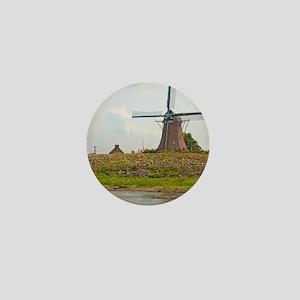 Fulton Windmill Mini Button