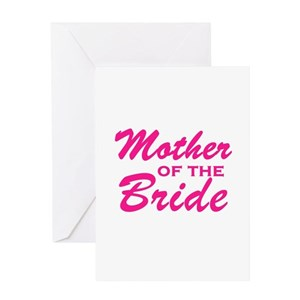 Mother of the bride greeting cards cafepress m4hsunfo