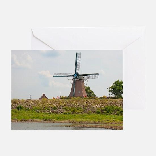 Fulton Windmill Greeting Card