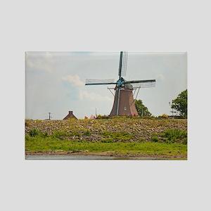 Fulton Windmill Rectangle Magnet
