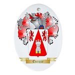 Enrique Ornament (Oval)