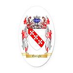 Enright Oval Car Magnet
